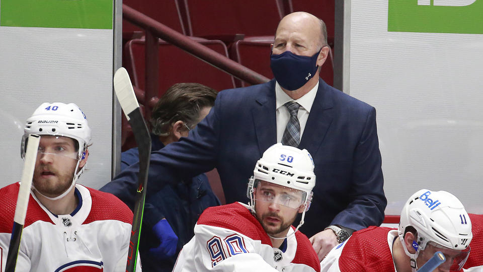Claude Julien was let go by the Montreal Canadiens on Wednesday.  (Photo by Jeff Vinnick/NHLI via Getty Images)