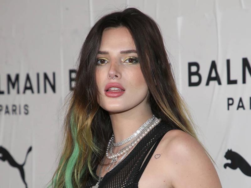 Bella Thorne ditched dye and extensions to achieve long hair
