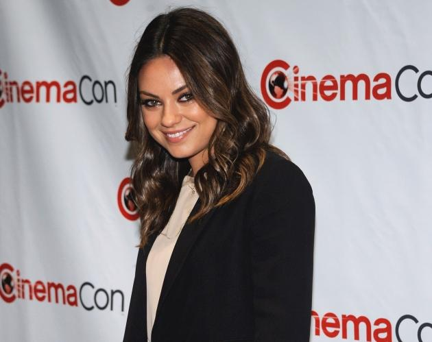 Mila Kunis arrives at CinemaCon 2012 - Walt Disney Studio Motion Pictures event in Las Vegas on April 24, 2012 -- Getty Images