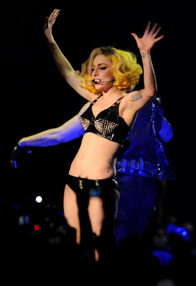 """Lady Gaga """"wants to pose for <i>Playboy</i>,"""" claims a titillating piece in <i>Heat</i> magazine. The performer is """"desperate"""" to take it off, says the tabloid, which notes the singer's always been a fan of <i>Playboy</i> founder Hugh Hefner. So when is Gaga finally going to strip for the mag? A source in her camp gives <a href=""""http://www.gossipcop.com/lady-gaga-playboy-naked-nude/"""" target=""""new"""">Gossip Cop</a> the naked truth. Eamonn McCormack/<a href=""""http://www.wireimage.com"""" target=""""new"""">WireImage.com</a> - May 28, 2010"""