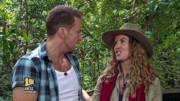 The star is said to be 'livid' with Joe Swash's 'Extra Camp' conduct. Copyright: [ITV]