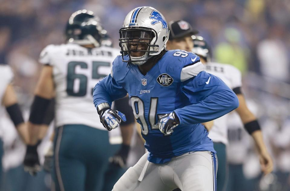 Detroit Lions defensive end Ezekiel Ansah could cash in, but is there question about his real age? (AP)