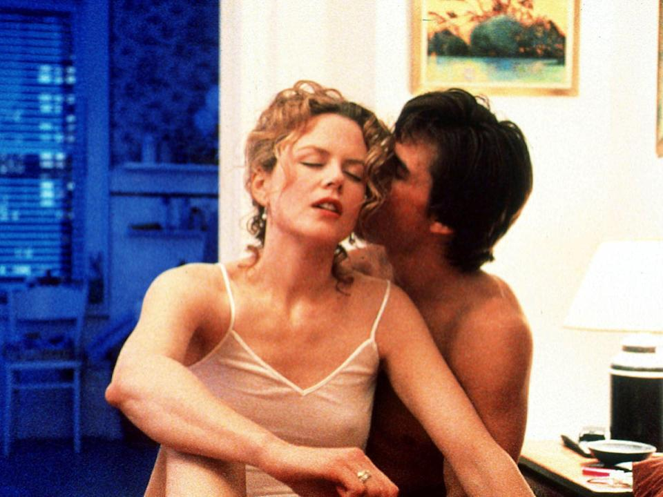 Tom Cruise and Nicole Kidman in Stanley Kubrick's 'Eyes Wide Shut' (Getty Images)
