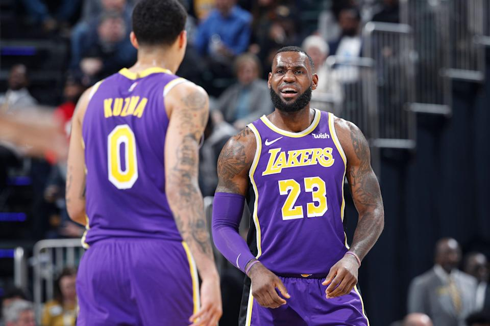 LeBron James has pointed to the Lakers' youth as the source of their problems multiple times. Maybe it's time he looks elsewhere. (Getty)