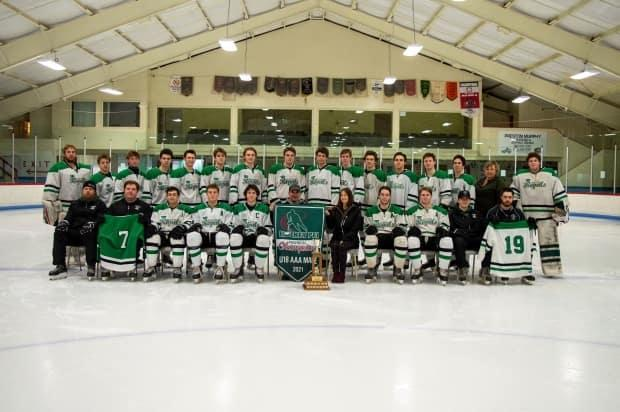 The Western Regals won the PEI U18 AAA hockey league this season after the deaths of current teammate Ethan Reilly and former teammate Alex Hutchinson in September.