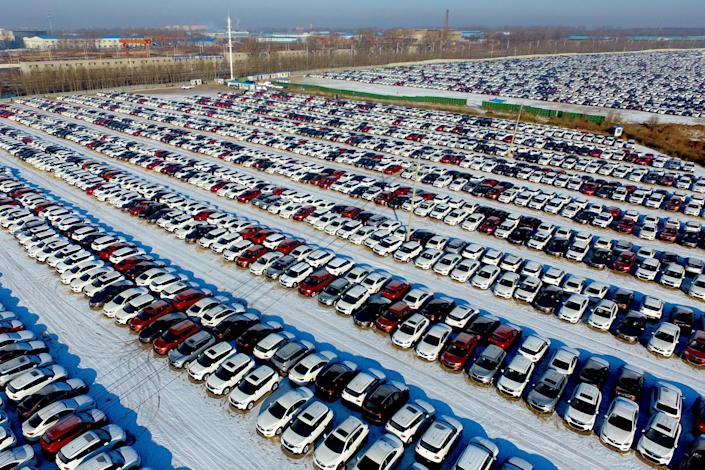 Sales rose 4.4 percent year-on-year in April, the latest figures from the China Association of Automobile Manufacturers show, driven by strong demand for commercial vehicles, which soared more than 30 percent.