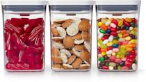 <p>The <span>OXO Good Grips 3-Piece POP Container Value Set</span> ($30) is storage done right. </p>