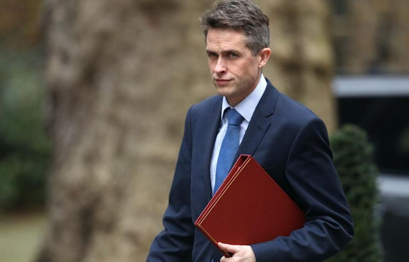 Gavin Williamson said a police investigation into the Huawei leak would exonerate him (Getty)