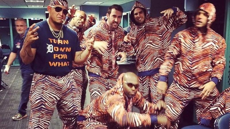 Detroit Tigers Players Are Wearing Zubaz, and They Look Incredible