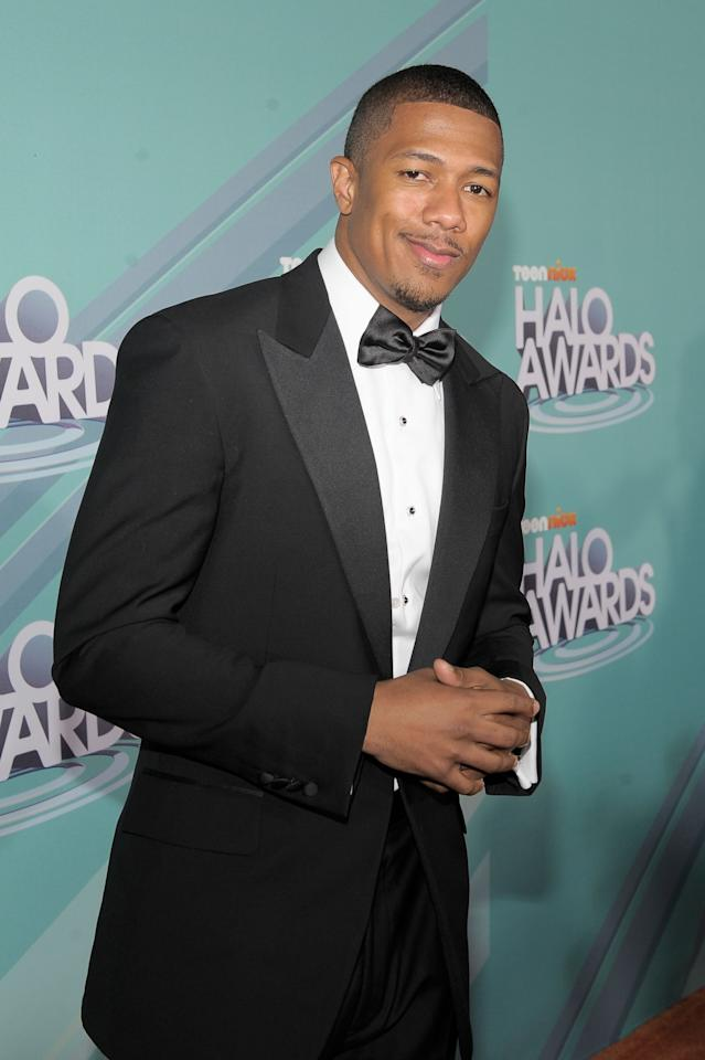 HOLLYWOOD, CA - OCTOBER 26:   TeenNick Chairman Nick Cannon arrives at the Nickelodeon's 2011 TeenNick HALO Awards held at the Hollywood Palladium on October 26, 2011 in Hollywood, California. The show premieres on Sunday, Nov.7th at 9:00p.m. (ET) on Nick at Night.  (Photo by Charley Gallay/Getty Images for Nickelodeon)