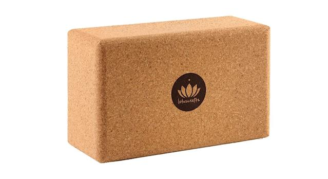 Lotuscrafts Yoga Block Cork Supra Grip