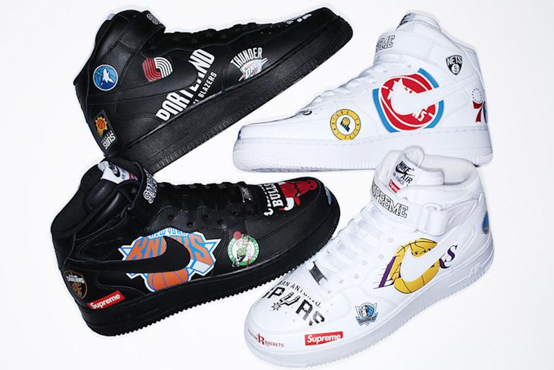 Supreme's Sneaker Collab With Nike and the NBA Is Coming
