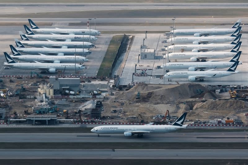 Cathay Pacific warns of H1 loss from 'unprecedented' virus challenge