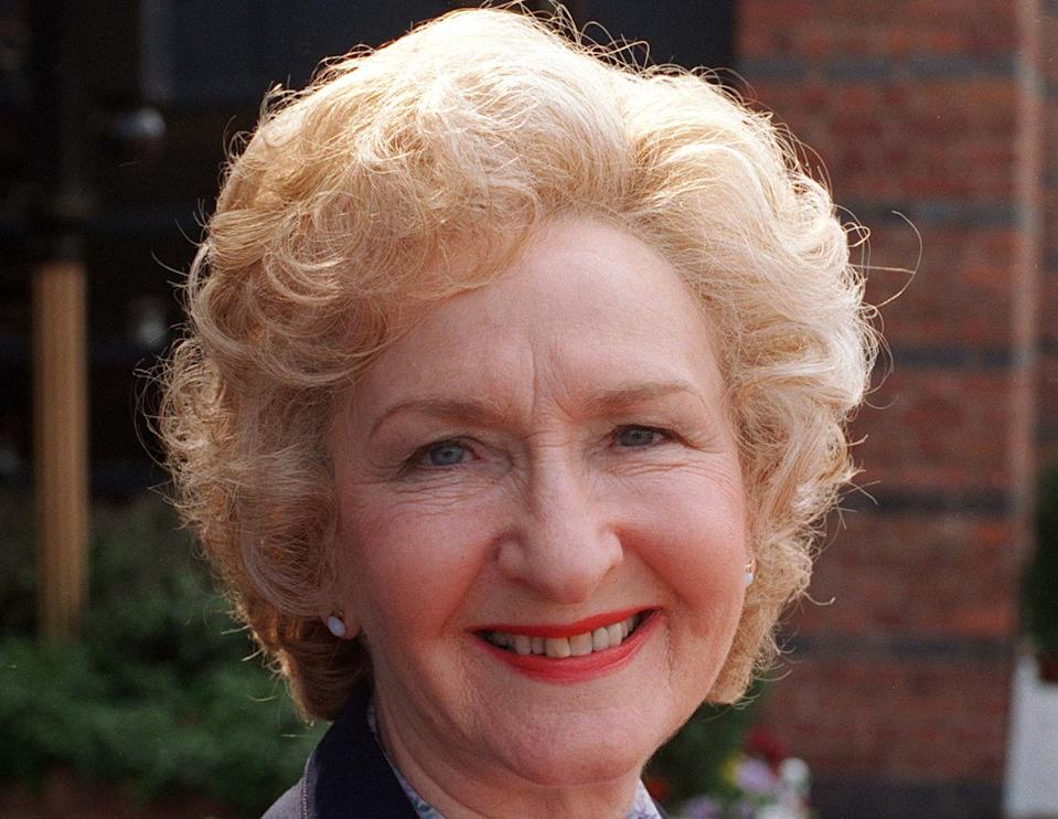 Eileen Derbyshire played Emily Bishop in Coronation Street from 1961 to 2019. (ITV)