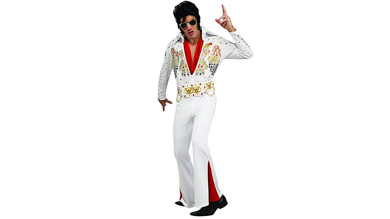 This groovy suit is perfect for rocking, shaking, and shimmying.