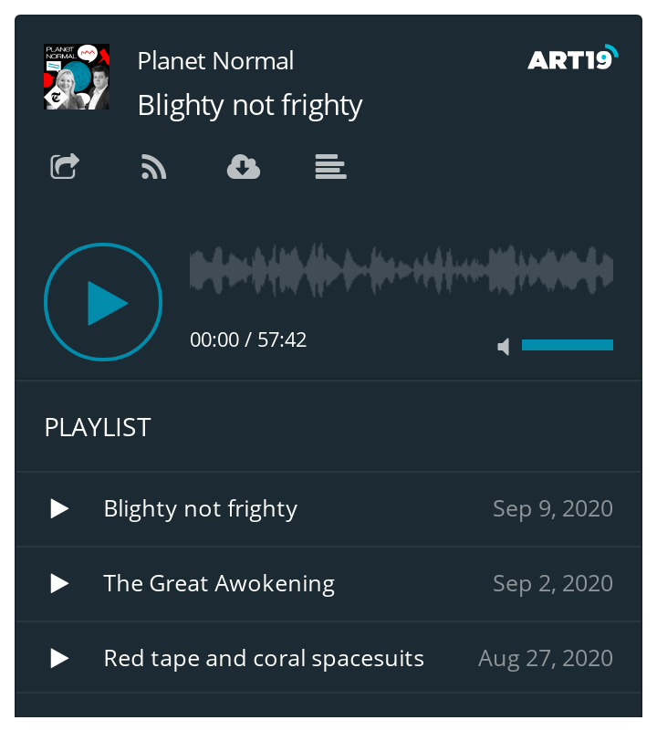 Planet Normal podcast - latest three episodes (auto updates)