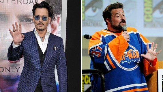 Johnny Depp Kevin Smith - H 2014