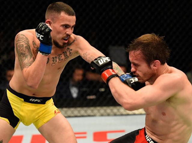 Pickett was distraught to lose his final fight in the Octagon: Getty