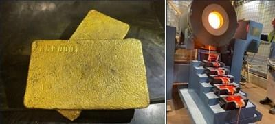 ELEMENTAL ROYALTIES NOTES FIRST GOLD POUR AT KEY KARLAWINDA ROYALTY (CNW Group/Elemental Royalties Corp.)