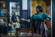 """<p>Based on the biography<strong> On Her Own Ground </strong>by A'Lelia Bundles, this series stars Octavia Spencer as the titular Madam C.J. Walker, a black hair-care entrepreneur who became the first Black American self-made millionaire.</p> <p><a href=""""http://www.netflix.com/title/80202462"""" class=""""link rapid-noclick-resp"""" rel=""""nofollow noopener"""" target=""""_blank"""" data-ylk=""""slk:Watch Self Made: Inspired by the Life of Madam C.J. Walker on Netflix"""">Watch <strong>Self Made: Inspired by the Life of Madam C.J. Walker </strong>on Netflix</a>. </p>"""