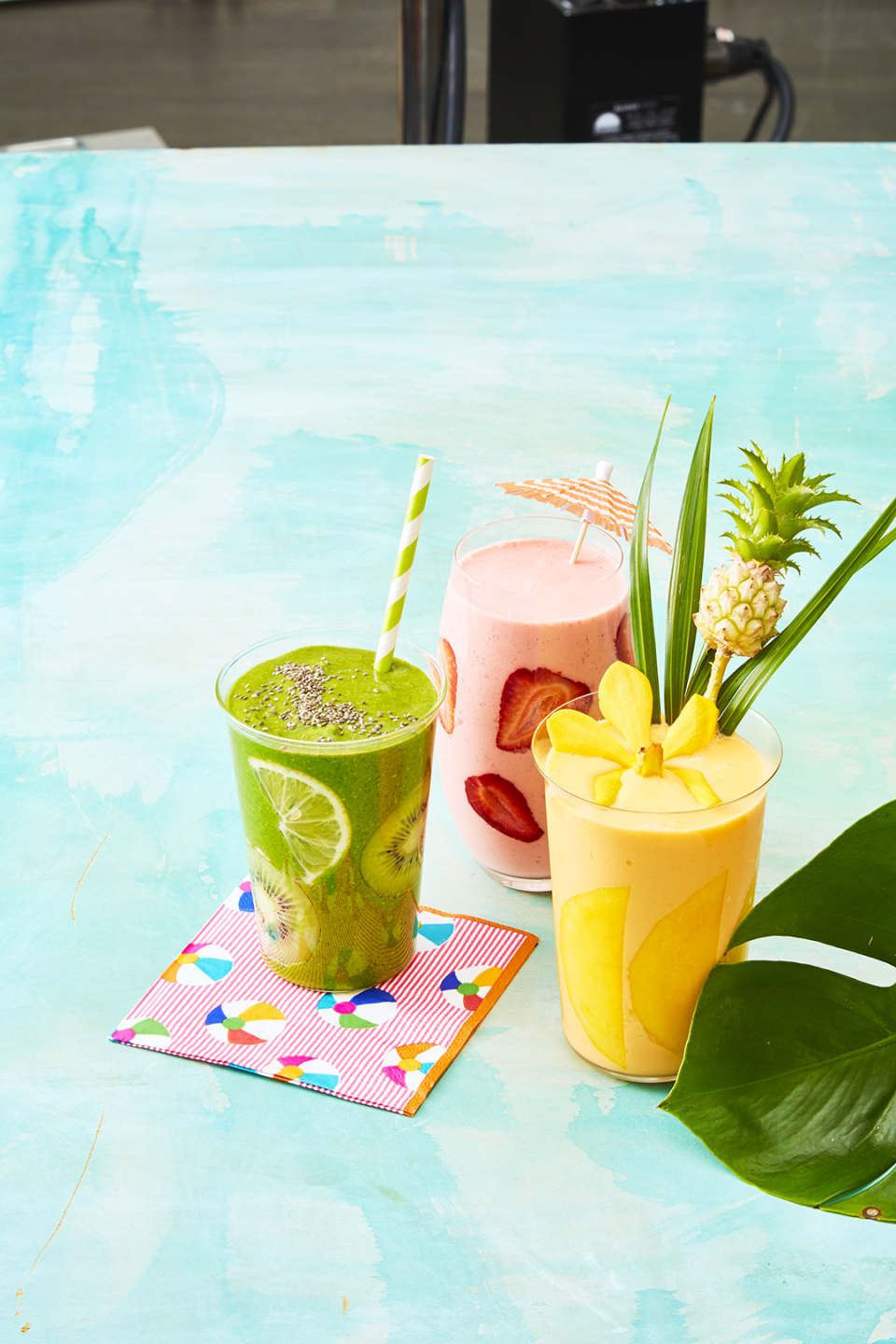 """<p>Sip your way to a healthier breakfast by blending your produce each morning. These<a href=""""https://www.goodhousekeeping.com/food-recipes/g5067/how-to-make-a-smoothie/"""" rel=""""nofollow noopener"""" target=""""_blank"""" data-ylk=""""slk:smoothie recipes"""" class=""""link rapid-noclick-resp""""> smoothie recipes</a> will get your day started off right by packing in nutrient-rich fruit and vegetables, plus protein-filled yogurt and milk for an energy boost that will keep you going until lunch. And unlike what you might get from <a href=""""https://www.goodhousekeeping.com/health/diet-nutrition/a22850252/is-jamba-juice-healthy/"""" rel=""""nofollow noopener"""" target=""""_blank"""" data-ylk=""""slk:store-bought options"""" class=""""link rapid-noclick-resp"""">store-bought options</a>, they prioritize actual produce instead of the juices, sorbets and sweeteners that can add tons of sugar to your cup. </p><p>Our <a href=""""https://www.goodhousekeeping.com/institute/about-the-institute/a19748212/good-housekeeping-institute-product-reviews/"""" rel=""""nofollow noopener"""" target=""""_blank"""" data-ylk=""""slk:Good Housekeeping Institute"""" class=""""link rapid-noclick-resp"""">Good Housekeeping Institute</a> Kitchen Appliances Lab also tested the best blenders for whipping up the smoothest, creamiest drinks. The <a href=""""https://www.amazon.com/Vitamix-E310-Explorian-Professional-Grade-Container/dp/B0758JHZM3?tag=syn-yahoo-20&ascsubtag=%5Bartid%7C10055.g.4060%5Bsrc%7Cyahoo-us"""" rel=""""nofollow noopener"""" target=""""_blank"""" data-ylk=""""slk:Vitamix E310 Explorian"""" class=""""link rapid-noclick-resp"""">Vitamix E310 Explorian</a> nabbed our top spot, but check out <a href=""""https://www.amazon.com/dp/B00NHBD10K?tag=syn-yahoo-20&ascsubtag=%5Bartid%7C10055.g.4060%5Bsrc%7Cyahoo-us"""" rel=""""nofollow noopener"""" target=""""_blank"""" data-ylk=""""slk:Black + Decker XL Blast Drink Machine"""" class=""""link rapid-noclick-resp"""">Black + Decker XL Blast Drink Machine</a> as a budget buy or the <a href=""""https://www.amazon.com/NutriBullet-Balance-Bluetooth-Enabled-Blender/dp/B0773P3WN5?tag=syn-ya"""