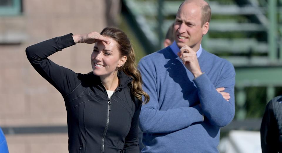 Shop the Duchess of Cambridge's sporty Lululemon jacket before it sells out. (Getty Images)