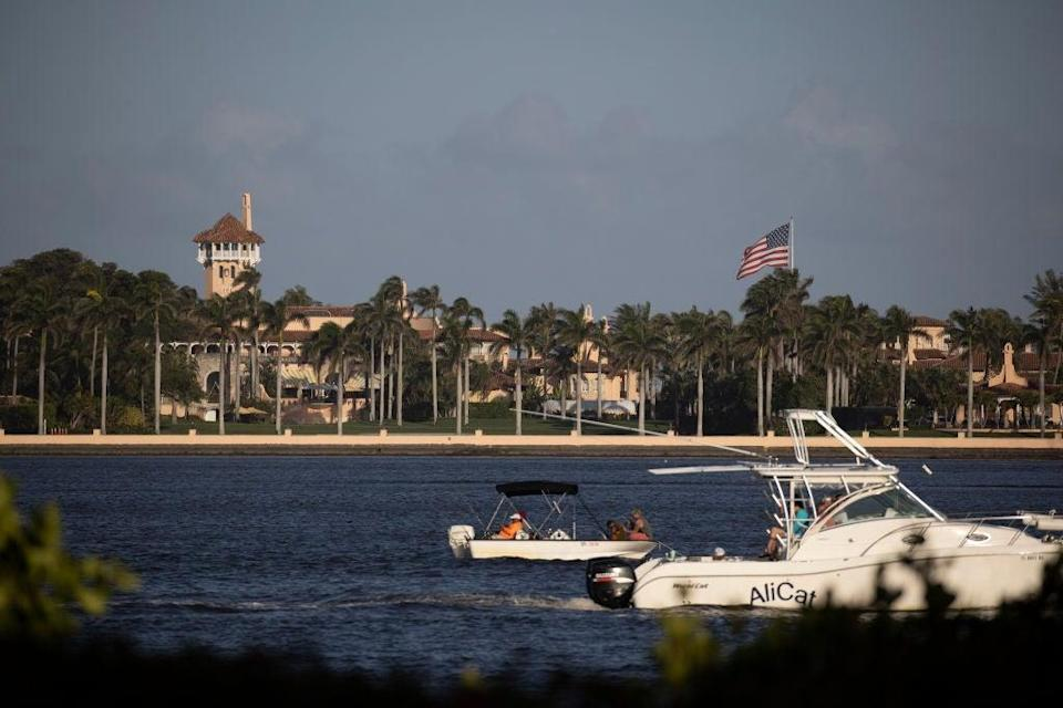 Former President Donald Trump's Mar-a-Lago resort (Getty Images)