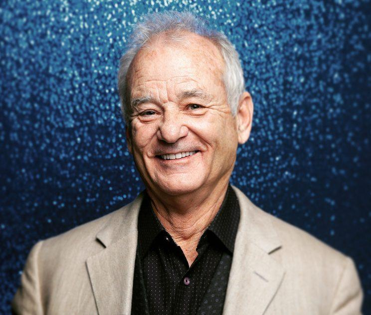 Bill Murray poses backstage at the GQ Men of the year Award 2016 at Komische Oper on November 10, 2016 in Berlin, Germany