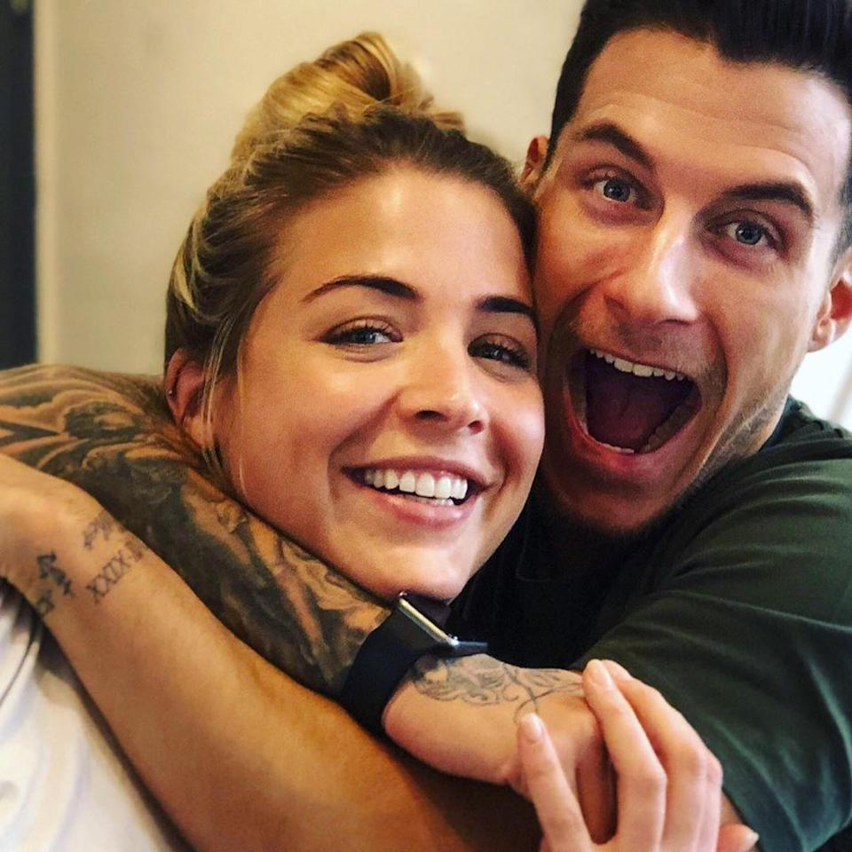 <p>Presenter Gemma Atkinson and dancer Gorka Marquez met when Gemma was paired with professional Aljaž Skorjanec and Gorka was partnered with singer Alexandra Burke. They now have a one and a half year old daughter together, Mia Louise. </p>