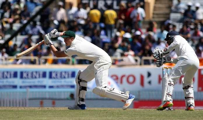Australia - 109/3 at Lunch on day 1 of the third test against India