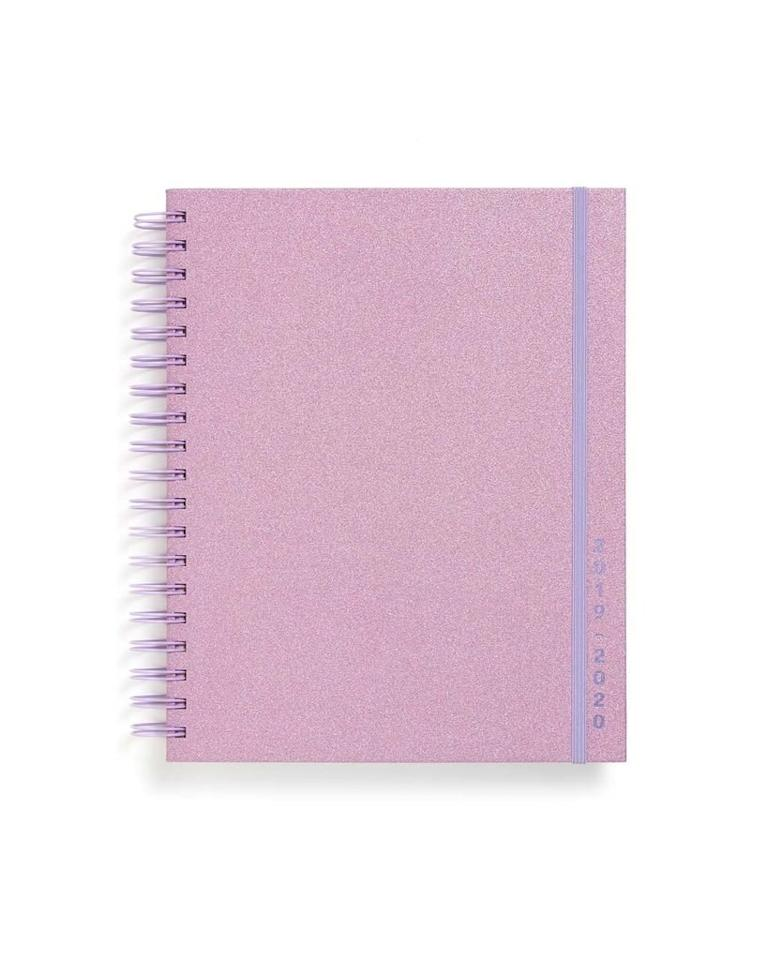 """For some people, 12 months of planning just isn't enough. Enter the 17-month planner for those of us who desperately need to get a jump on 2021. $32, Ban.do. <a href=""""https://www.bando.com/products/large-17-month-planner-lilac-glitter"""">Get it now!</a>"""