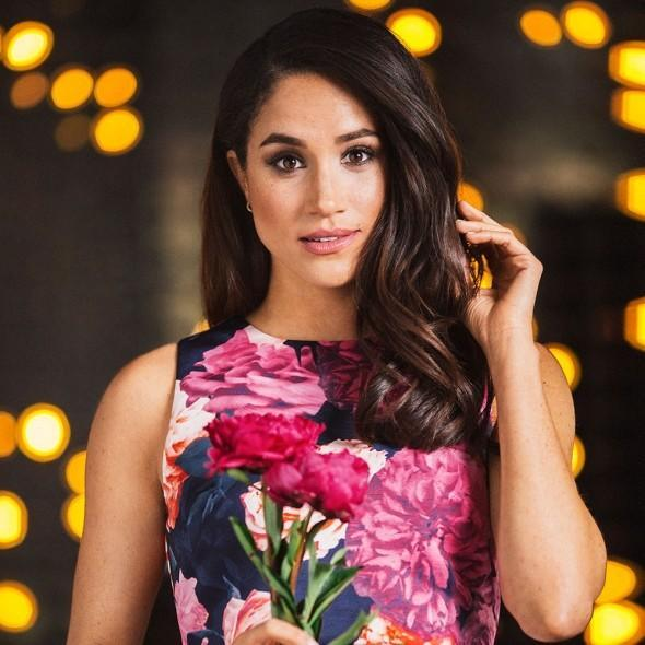 <i>Meghan Markle reveals her wardrobe secrets in a new interview [Photo: Good Housekeeping]</i>