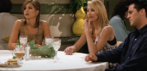 """<p>In the <em>Friends </em>episode """"The One with Five Steaks and an Eggplant,"""" the group has an uncomfortable but necessary conversation about money. Rachel, Phoebe, and Joey finally bring up the fact that they have tighter budgets than Ross, Monica, and Chandler, and that they need their friends to keep that reality in mind. It's a little awk, but worth it so that your crew understands why you can't always split the bill evenly. (You didn't order a second drink for a reason!) </p>"""