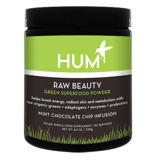"<p><strong>Raw Beauty Green Superfood Powder, $39, <a rel=""nofollow"" href=""https://www.humnutrition.com/product/32/raw-beauty""><span>humnutrition.com</span></a></strong><strong>.</strong></p><p><strong>What It Is and What It Does:</strong> This powder supports glowing skin and a healthy metabolism with detoxifying herbs, beauty-boosting phytonutrients, alkalizing greens, and digestion-supporting fiber. </p>"
