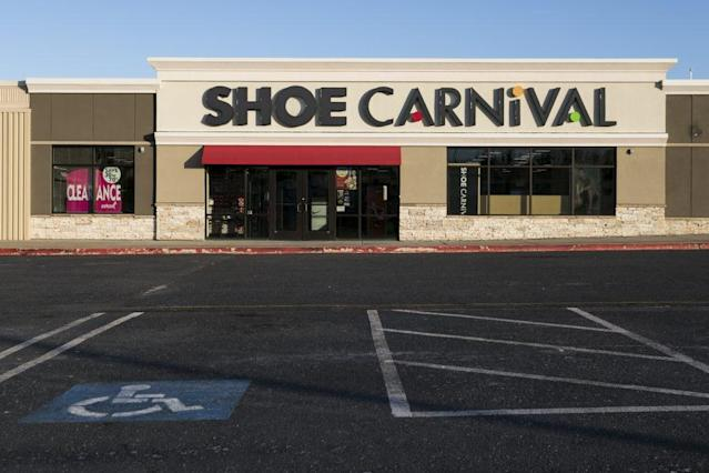 Shoe Carnival's Stock Is Sinking Double Digits on the Heels of a