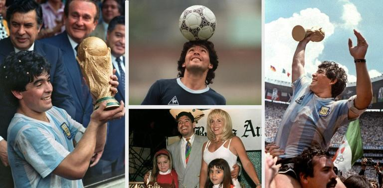 Maradona's performances during Argentina's trumph at the 1986 World Cup made him a global icon