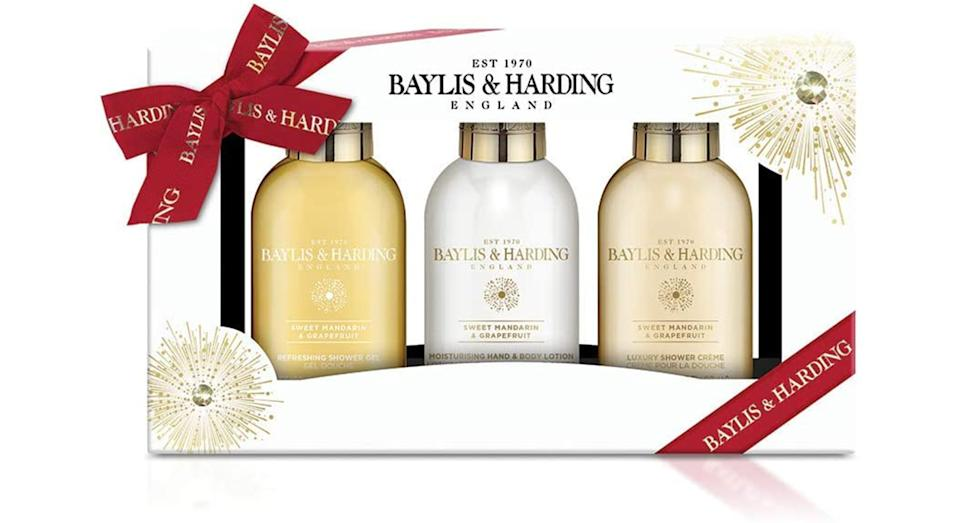 Baylis & Harding Sweet Mandarin & Grapefruit Bathing Treats Giftset