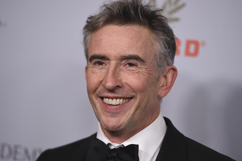 Steve Coogan arrives at the BAFTA Los Angeles Britannia Awards at the Beverly Hilton Hotel on Friday, Oct. 25, 2019, in Beverly Hills, Calif. (Photo by Jordan Strauss/Invision/AP)