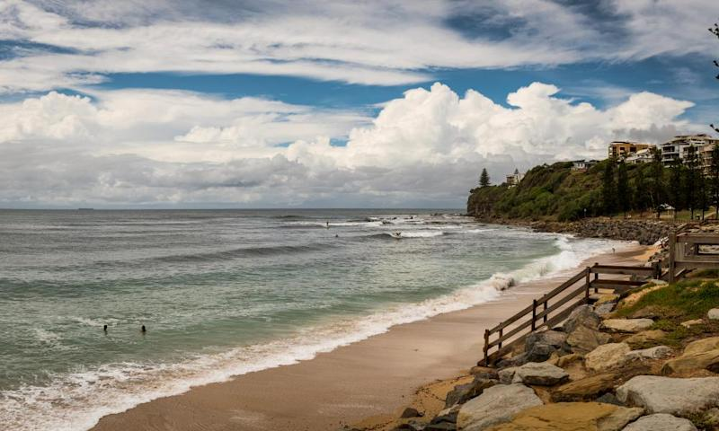 Moffat Beach in Caloundra