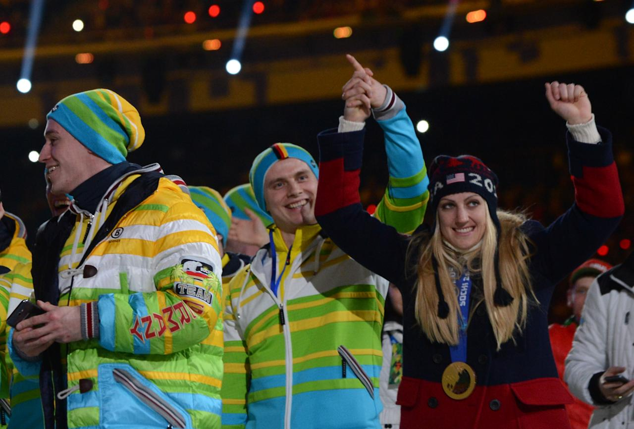 <p>Another bobsledding couple, Jamie Greubel Poser (USA) and Christian Poser (Germany) met at the Bobsled World Cup in 2012. They were married following the Sochi Olympics in 2014 and will both be representing their respective countries in PyeongChang. (Getty) </p>