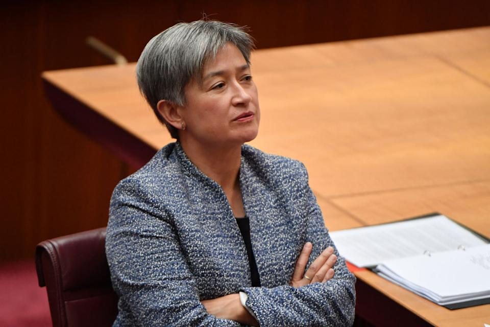 Labor Senater Penny Wong also received the letter and forwarded it to police. Source: AAP