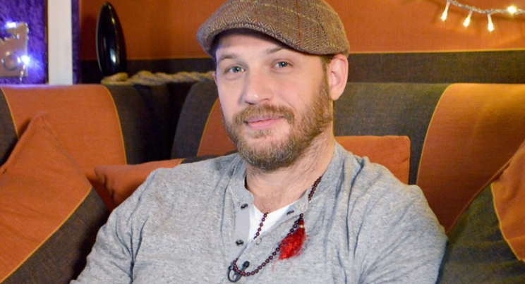 Tom Hardy won New Year's Eve, reading the bedtime story on CBeebies