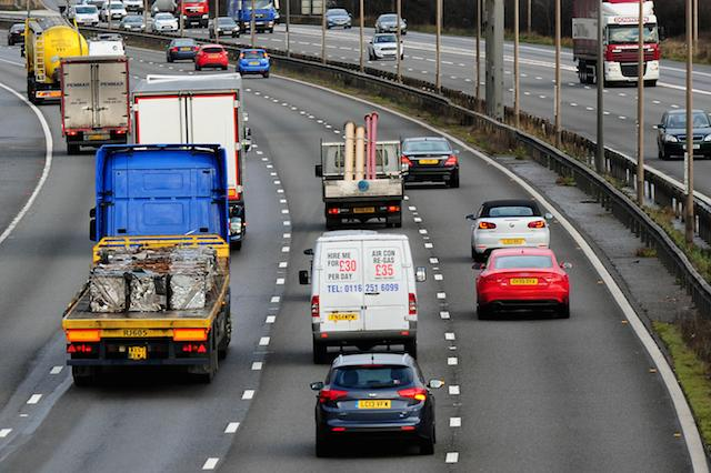 General view of M1 motorway near Nottingahm. PRESS ASSOCIATION Photo. Picture date: Tuesday January 7, 2014. See PA story TRANSPORT Motorway. Photo credit should read: Rui Vieira/PA Wire
