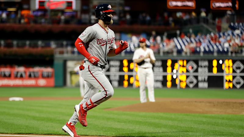 Mlb Rumors Bryce Harper Could Be Rounding Third On