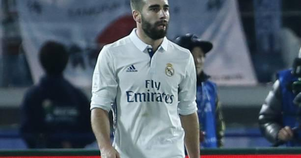 Foot - C1 - Real - Real Madrid : Dani Carvajal et Nacho titulaires contre le Bayern Munich