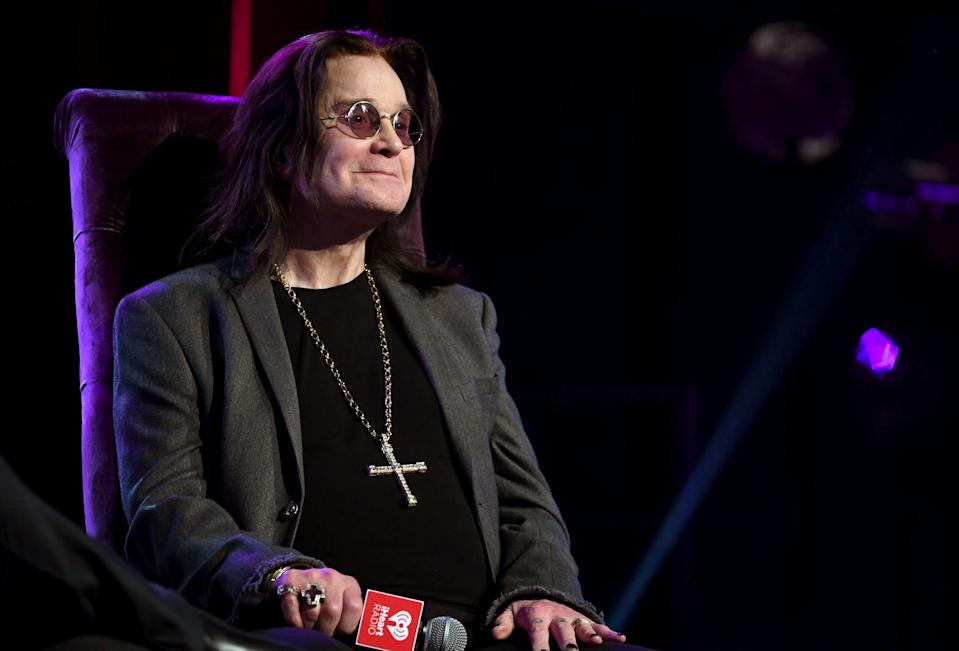 Ozzy Osbourne, 72, shared that he recently received the first dose of the COVID-19 vaccine. (Photo: Kevin Winter/Getty Images for iHeartMedia)