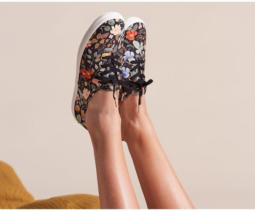 <p>Florals make everything more playful, and these <span>Keds x Rifle Paper Co. Champion Strawberry Fields Sneakers</span> ($65) are no exception. The print, inspired by blossoms, butterflies, and berries, feels summery and polished.</p>