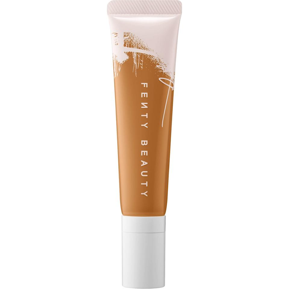 "<p><a href=""https://www.popsugar.com/beauty/Fenty-Beauty-Pro-Filtr-Hydrating-Longwear-Foundation-Review-46471281"" class=""ga-track"" data-ga-category=""Related"" data-ga-label=""https://www.popsugar.com/beauty/Fenty-Beauty-Pro-Filtr-Hydrating-Longwear-Foundation-Review-46471281"" data-ga-action=""In-Line Links"">Our editors have fallen in love</a> with this lightweight <a href=""https://www.popsugar.com/buy/Fenty-Beauty-Pro-Filtr-Hydrating-Longwear-Foundation-491268?p_name=Fenty%20Beauty%20Pro%20Filt%27r%20Hydrating%20Longwear%20Foundation&retailer=sephora.com&pid=491268&price=35&evar1=bella%3Aus&evar9=46625189&evar98=https%3A%2F%2Fwww.popsugar.com%2Fbeauty%2Fphoto-gallery%2F46625189%2Fimage%2F46625235%2FFenty-Beauty-Pro-Filtr-Hydrating-Longwear-Foundation&list1=shopping%2Cmakeup%2Cfoundation%2Csephora%2Cfall%20beauty&prop13=mobile&pdata=1"" rel=""nofollow"" data-shoppable-link=""1"" target=""_blank"" class=""ga-track"" data-ga-category=""Related"" data-ga-label=""https://www.sephora.com/product/pro-filt-r-hydrating-longwear-foundation-P448702?icid2=products%20grid:p448702"" data-ga-action=""In-Line Links"">Fenty Beauty Pro Filt'r Hydrating Longwear Foundation</a> ($35), and it's easy to see why. Who wouldn't want a lightweight foundation that won't dry out your skin and will make you look glowy and beautiful.</p>"