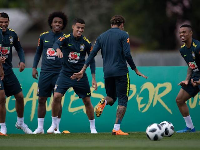 World Cup 2018: Brazil in attacking shake-up as Tite experiments with Willian, Neymar and Gabriel Jesus
