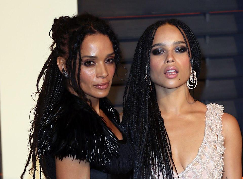 <p>Bonet first flowered in the limelight as Denise Huxtable on <em>The Cosby Show</em>. When Lisa married rock legend Lenny Kravitz, they had a daughter, Zoë. Since being born with the flash of paparazzi bulbs constantly swarming her parents, Zoë's roles in <em>Big Little Lies </em>and Hulu's <em>High Fidelity </em>have helped her carve out her own path in Hollywood<em>.</em> </p>